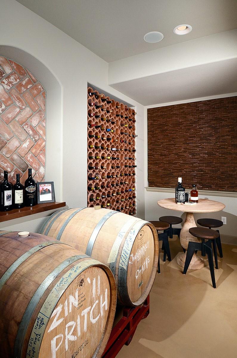 Old Italian Wine Cellar Basements Beyond